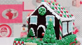 tarta de casita de navidad en Soria